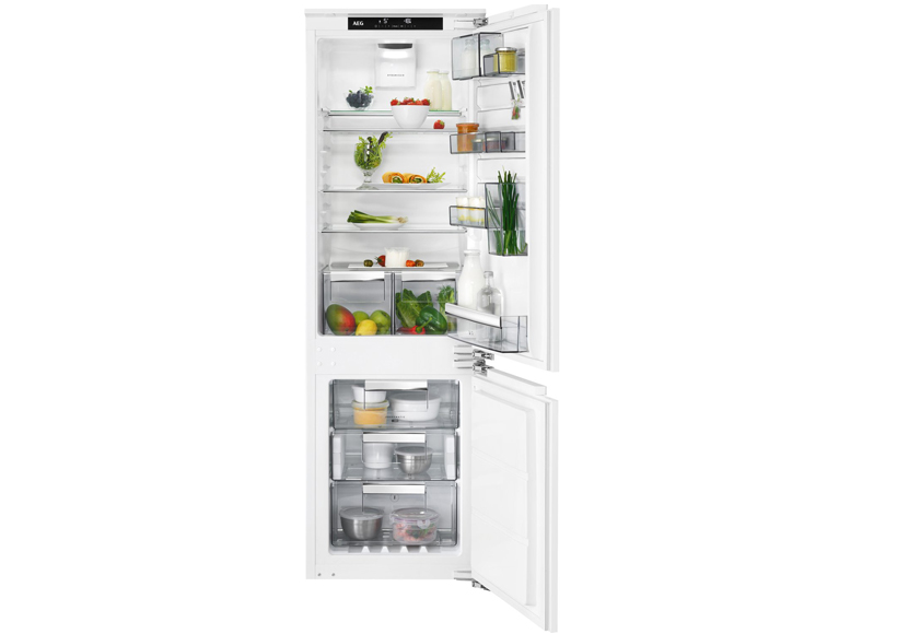 Aeg Kühlschrank Coolmatic : Aeg einbau kühl gefrierkombination sce tc küchen elektro